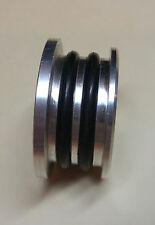 Dual Cam Seal B16/B18/B20 Silver Billet Plug B-Series Honda 90-09 DOHC Engines