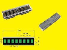 Hdsp 2533 Led Alphanumeric Dot Matrix Display 8 Digit 5x7 Green 1 Piece