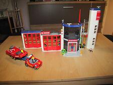 Playmobil Feuerwehrstation mit Zubehör