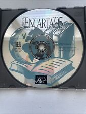 Microsoft Encarta '95 (Pc Cd-Rom, 1994) Interactive Multimedia Encyclopedia