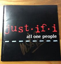 JUST IF I cd Japan All One People signed Mike Reno Loverboy Neal Schon Journey
