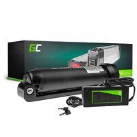 E-Bike Akku 36V 5.2Ah Li-Ion Bottle Pedelec Green Cell Batterie + Ladegerät