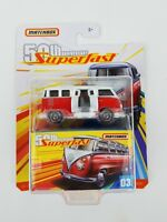 2019 Matchbox  50TH Anniversary Superfast  59 VW 23 Microbus - Moving Parts