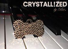 Custom Crystallized Personalized Dog Cat Tag Bling Made w/ Swarovski Crystals