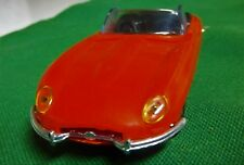 """JAGUAR XKE 6 CYLINDER 3 CARB FRENCH 1:43 4"""" LONG PLASTIC MINILUXE WITH BOX XKE"""