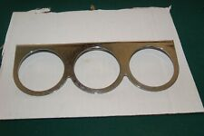 "SUN  three gauge chrome bracket 2 5/8"" gauges"