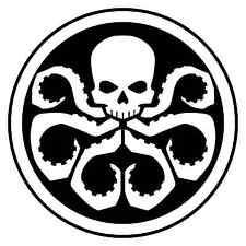 Hydra Logo, Van, Laptop, Scooter Vinilo Calcomanía Adhesivo