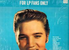 MFD IN CANADA 1965 BLUES ROCK LP ELVIS PRESLEY : FOR LP FANS ONLY