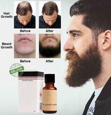 Natural De Crecimiento De Vello Facial Tratamiento Suero crecer Bigote Barba Cejas rápido