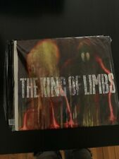 "Radiohead The King Of Limbs 2011 UK 2 X 10"" Clear Vinyl LP Newspaper CD Sealed"