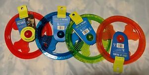 Dog Toy Frisbee Bright LED Light Up Fun Day/Night Glow in The Dark. Choose Color