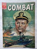 Combat #4 (Jun. 1962, Dell) [VG/FN 5.0] JFK / PT 109 Story
