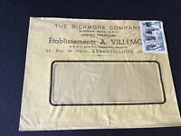 France paris bickmore company stamps cover Ref R28780