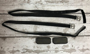 STIRRUP STRAPS Pair Synthetic Inc Rubbers Pony Horse Riding