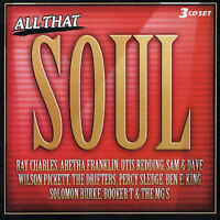 All That Soul - Various Artists       *** BRAND NEW 3CD BOX SET ***