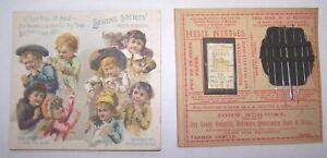1885 Sewing Society Needle Book Farmer Center Ohio John Norway Hellix Needles