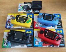 Sega Game Gear Micro Konsole 4 Komplett Set 30th Jubiläum Gg + Big Fenster Set
