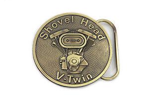 Shovelhead Belt Buckle for All Harley Lovers!