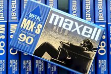 Maxell MX-S 90 135m/ 440ft. Metal Cassette Tape & - Made In Japan