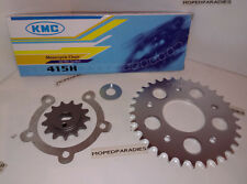 Kreidler Florett K54 RM LF LFH GT Kettensatz Kette 415 Ritzel Kettenrad 13/33