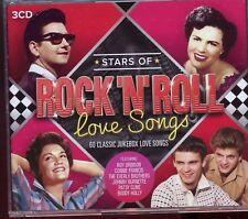 Stars Of Rock 'n' Roll Love Songs - 3CD Box Set