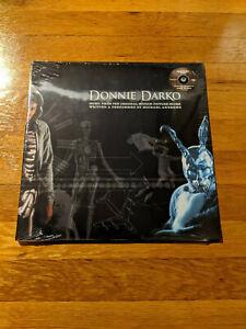 Donnie Darko Score Soundtrack CLEAR BLACK MARBLE Vinyl LP Michael Andrews Sealed