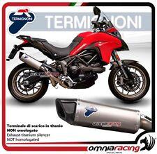Termignoni FORCE scarico completo titanio racing Ducati MULTISTRADA 950 2016>