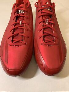 Mens Adidas Adizero Afterburner 3 Baseball Cleats Size 13 Q16566