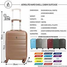 Aerolite Super Leichtgewicht ABS Hartschale Reise Fortführen Kabinen Handgepäck