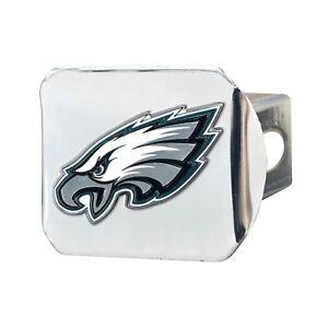 Fanmats NFL Philadelphia Eagles 3D Color on Chrome Metal Hitch Cover 2-4 Day Del