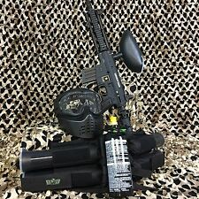 New Tippmann Us Army Project Salvo Epic Paintball Marker Gun Package Kit - Black