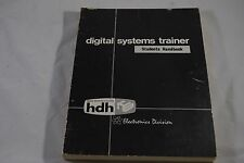 DIGITAL SYSTEMS TRAINER STUDENTS HANDBOOK HDH (HAWKER DE HAVILLAND) ELECTRONICS