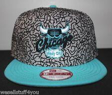 New Era Chicago Bulls 3lab5 Jordan Black Gamma Blue Gray Grey Snapback Cap Hat