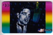 AMERIQUE  TELECARTE / PHONECARD .. USA 10$ AMERIVOX ELVIS PRESLEY +N° 1993 NEUVE