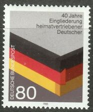 Germany 1985 MNH Mi 1265 Sc 1451 Reintegration of German World War II Refugees**