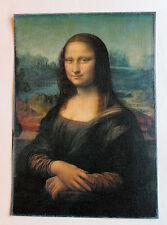 Leonardo Da Vinci Mona Lisa 8.3X11.7 canvas print giclee art reproduction poster