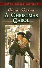 Dover Thrift Editions: A Christmas Carol by Charles Dickens 1991, Paperback BOOK