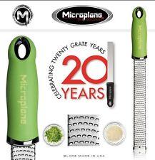 Strumenti verde Microplane in acciaio inox per cucinare