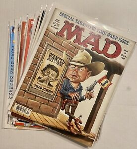 Mad Magazine Complete Set From Lot Of Rare Issues & Special Collector's Editions