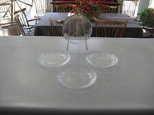 "Four Arcoroc Canterbury 7 3/4"" Salad Plates ~ In EC! Multiples Available"