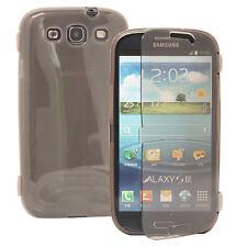 Housse Coque Portefeuille Livre GRIS Samsung Galaxy S3 i9300/ i9305 Neo/ LTE 4G