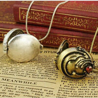 2Pcs/Set The Vampire Diaries Elena's Vervain Antique Locket Vintage Necklace