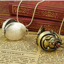 2Pcs/Set The Vampire Diaries Elena Verveine antique médaillon vintage collier