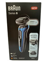 Braun Series 6-6020s Men's Rechargeable Wet & Dry Electric Foil Shaver SEALED