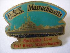 PINS US NAVY USS MASSACHUSETTS NAVIRRE DE GUERRE USA