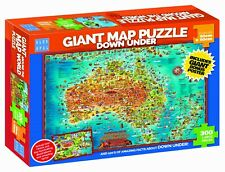 * Blue Opal Giant Map Down Under Jigsaw Puzzle - BL01880