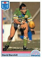 ✺New✺ 1992 CANBERRA RAIDERS NRL Card DAVID BARNHILL