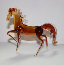 Art Blown Glass Murano Figurine  Glass Horse Figurine #7