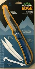 NEW Outdoor Edge Razor Fin Replaceable Blade Fillet & Gutting Knife 4 Blades