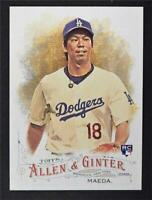 2016 Topps Allen and Ginter #120 Kenta Maeda RC - NM-MT